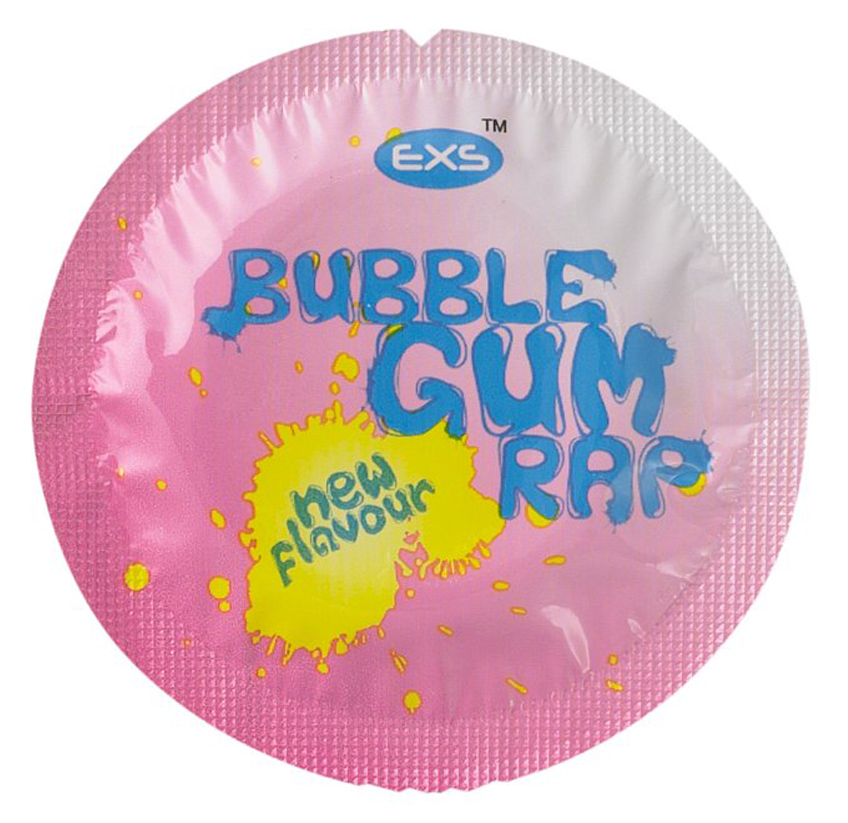 EXS Bubble Gum Rap Condoms