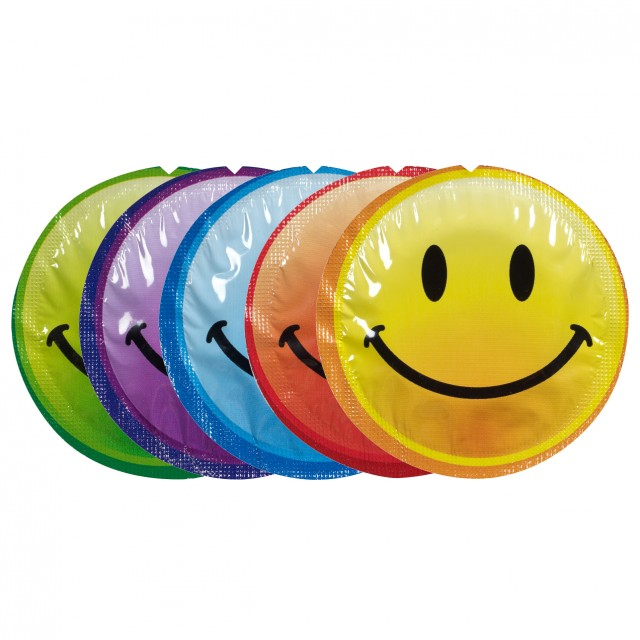 EXS Smiley Face Condoms