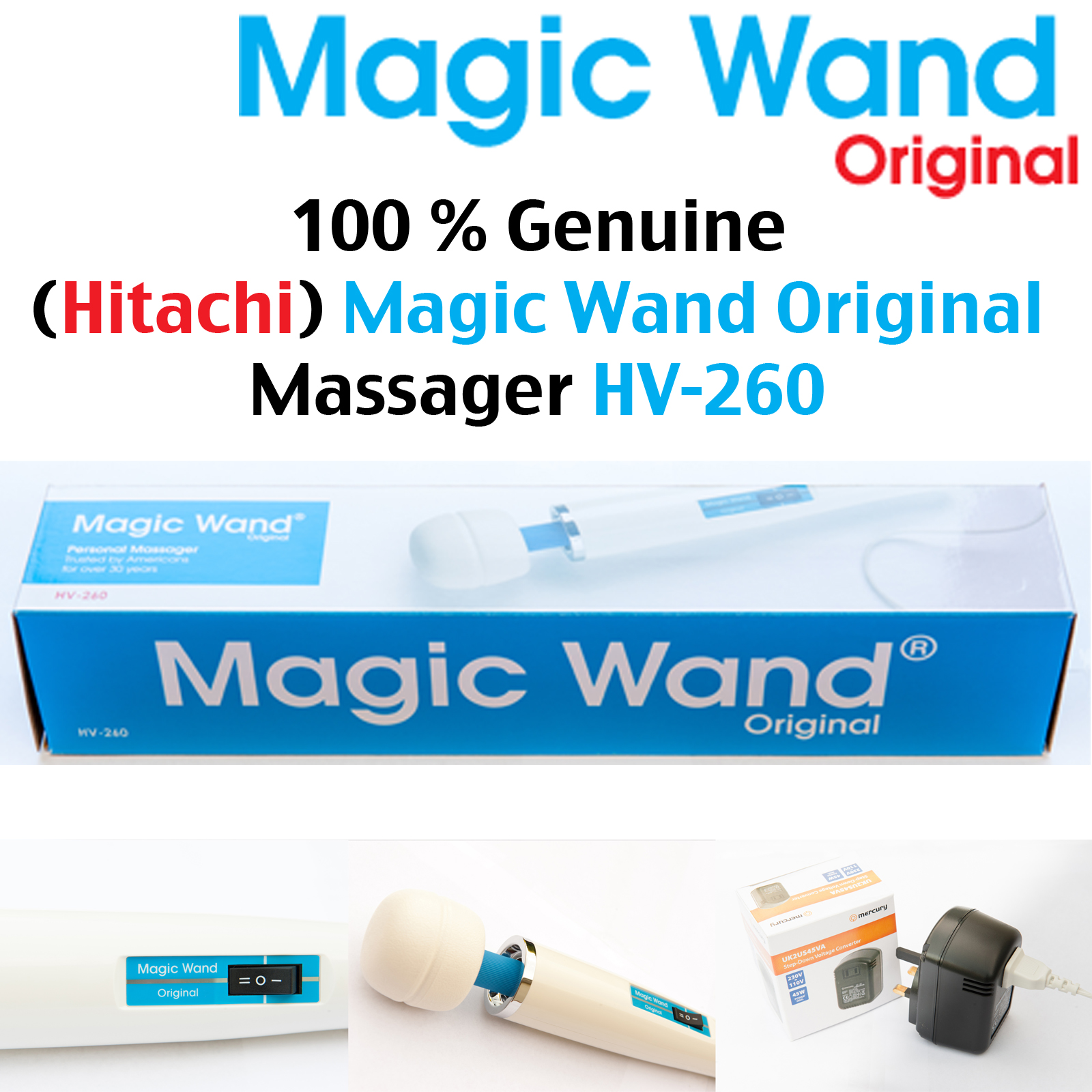 Hitachi Magic Wand Original Massager