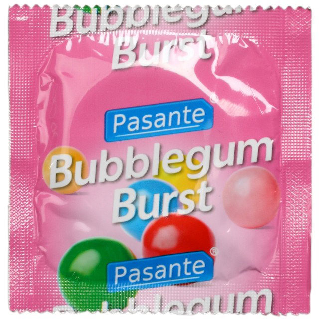 Pasante Bubblegum Burst Flavour Condoms