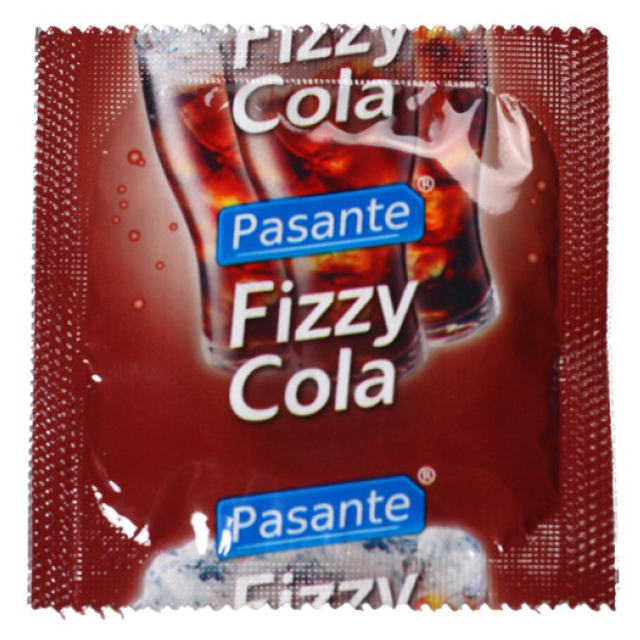 Pasante Fizzy Cola Condoms