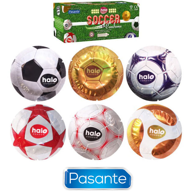 Pasante Halo Football Condoms